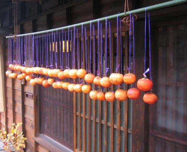 干し柿 栄養 効果 効能