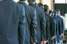中学 入学式 服装