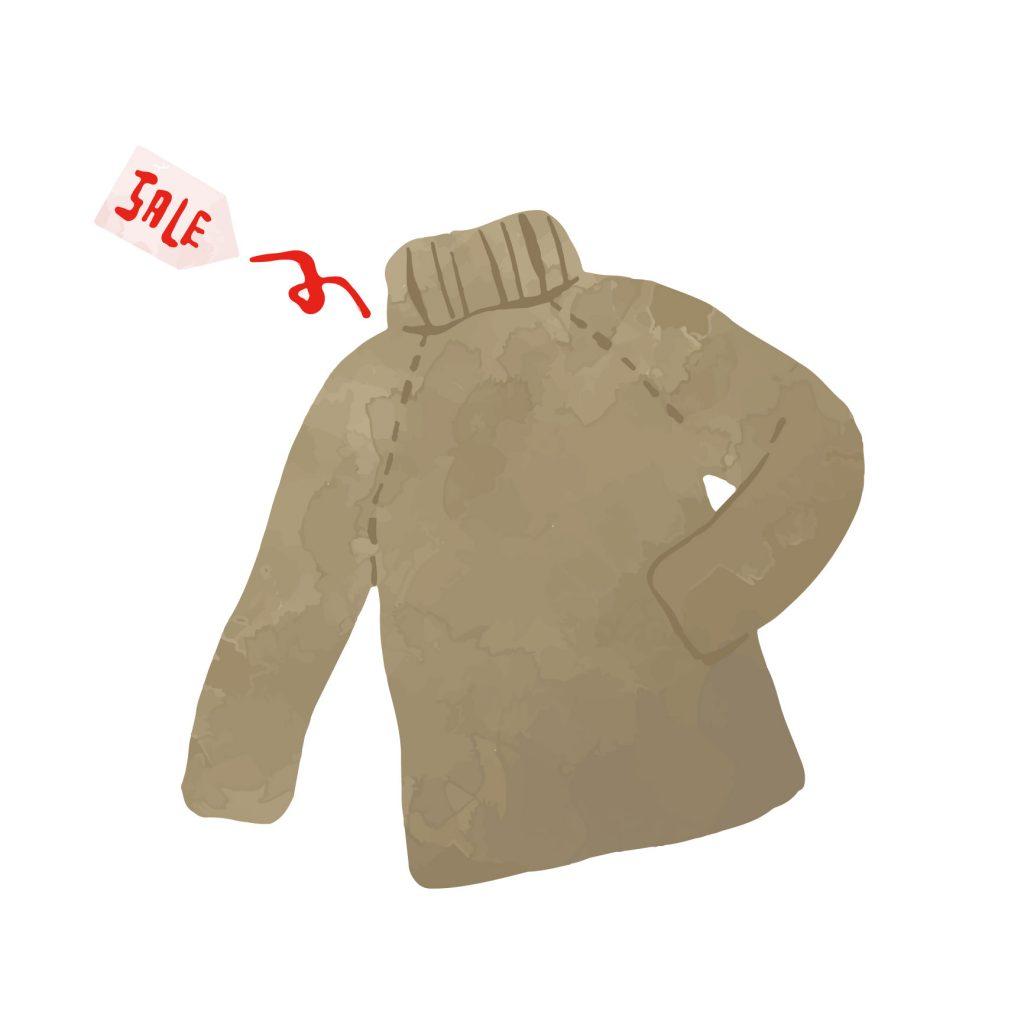 セーター 臭い 取り方
