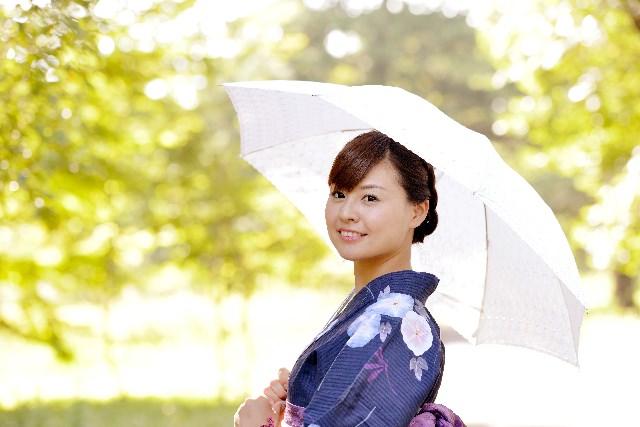 日傘 効果