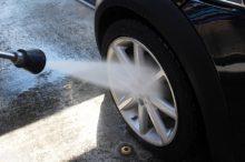 黄砂 花粉 洗車